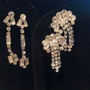 Pretty clip on earrings by Weiss and Kramer